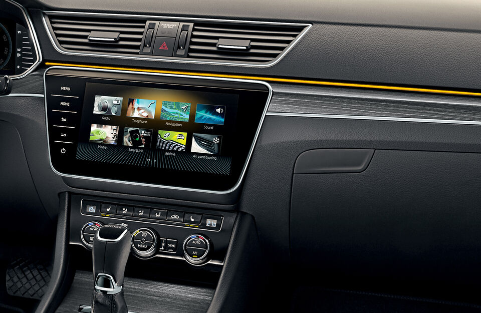 SKODA SUPERB Combi iV Display